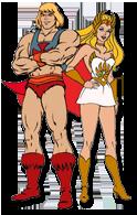 Musclor & She-Ra