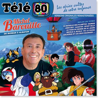 """Télé 80 : Michel Barouille """"De Bioman à Albator"""""""