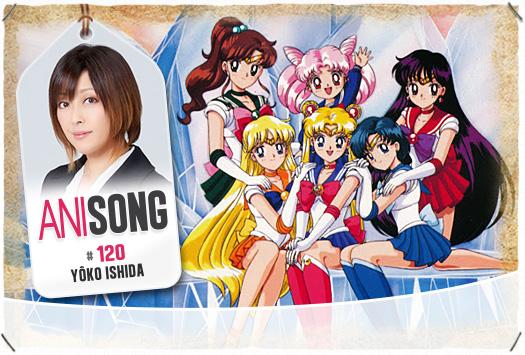 <b>ANISONG # 120 : </b>Yôko Ishida