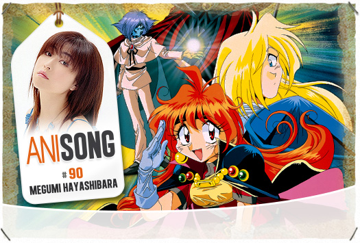 <b>ANISONG # 90 : </b>Megumi Hayashibara
