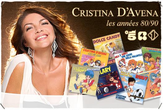 <b>SOIRÉE 100 % : </b>Cristina D'Avena