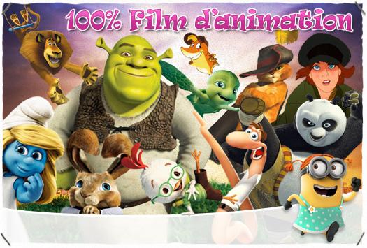 <b>SOIRÉE 100 % : </b>Film d'animation