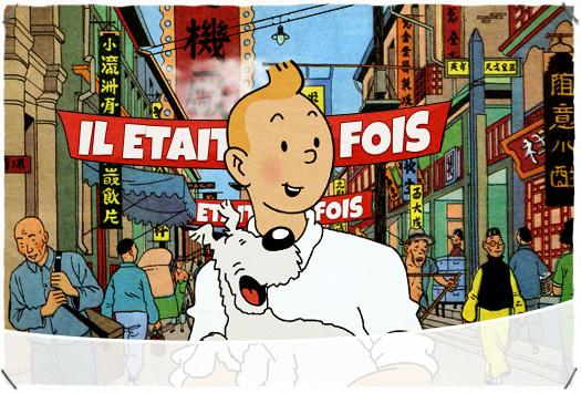 <b>IL ÉTAIT UNE FOIS : </b>Les aventures de Tintin
